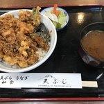 天ふじ - 料理写真:かき揚げ丼
