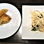 香港私菜 Repulse Bay - 『春巻き』と『前菜(おしの麩)』~♪(* ̄∇ ̄)ノ