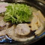 作ノ作 - 黒豚骨800円