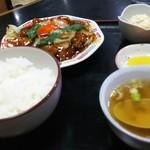 美喜 - 酢豚定食
