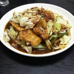 美喜 - 豚肉とキャベツの味噌炒め
