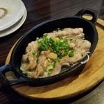 こころthe志  - 「三河鶏のせせり 黒胡椒焼き (580円)」