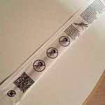 76898759 - 英語表記の不思議な箸袋