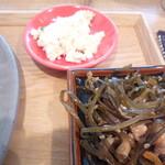 カフェ三三五五 - おからと昆布の小鉢