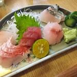 ゆきの - 料理写真:刺身盛合せ1,000円コース