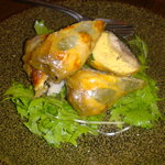タケハーナ - 秋刀魚と卵と野菜のキッシュのようなもの