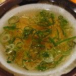 博多白天 - 炒飯のコラーゲンスープ