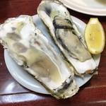 三四味屋 - 焼き牡蠣