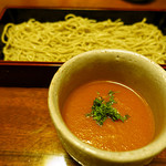 芳とも庵 - 濃厚トマトだれ蕎麦