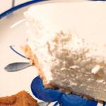 きっさこ - レアチーズケーキを接写