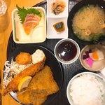 咲蔵 - 料理写真:ミックスフライ定食(800円)