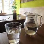 ピーチェリーノ - お水。       2017.11.11