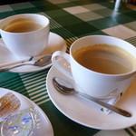 一魂 - 食後の淹れたてコーヒー付き。