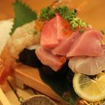 長州酒場 魚有 - こぼれ寿司