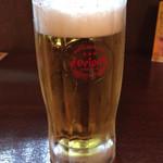 てびち屋本舗 - オリオン生ビール(中)500円
