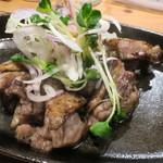 虎視眈々 - 地鶏焼き 親鶏(ハーフ)