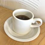 Green Cafe&Bar - ランチセットの烏龍茶
