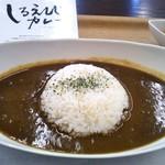 ヴィーダカフェ - 料理写真:白エビカレー&ご飯普通盛り