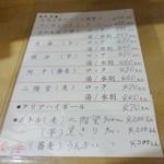 焼き鳥 千羽 - メニュー(2)