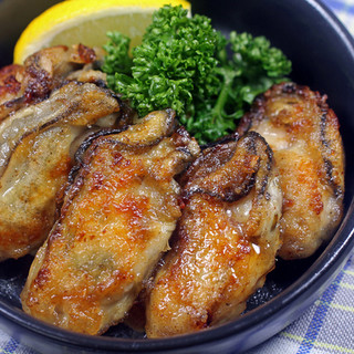 料理今が旬!牡蠣バター醤油焼