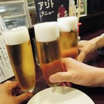 アジト - 乾杯