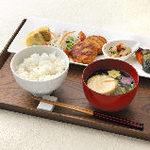FUMUROYA CAFE  - 麩入りつくねハンバーグランチ