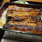 桑名屋 - 料理写真:うな重(確か上)