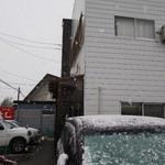 76920484 - 雪が!