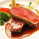 牛ランプのステーキ