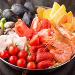 完全個室貸切イタリアン 淡路島の恵み トラットリア・ドーニpart2 - 2017忘年会トマト鍋