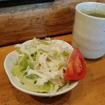 寿司処 雅 - ランチの(?)サラダ