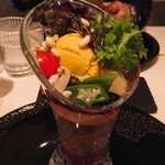76925447 - AIDAスペシャリテ 季節野菜のパフェ