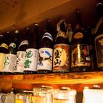 居酒屋きらくや - ドリンク写真:地酒の品揃えに自信あり!