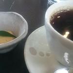 珈琲茶館倶楽部 - 料理写真:『ソフトブレンド』お茶請うけのクッキーがかわいいです。