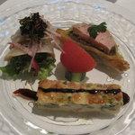 ビストロペイザンヌ - 料理写真:前菜盛り合わせ どれも旨し