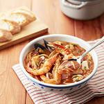 ジョリーパスタ - 料理写真:冬の新メニュー!ずわい蟹と魚介たっぷりブイヤベース