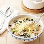 ジョリーパスタ - 冬の新メニュー!とろ~りチーズと牡蠣のクリームスープパスタ