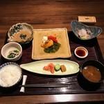 左近太郎 - 霜月のお楽しみ御膳(1500円)