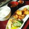 焼肉山ちゃん - 料理写真:ホルモン唐揚げ定食