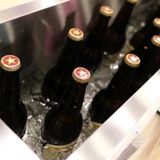 どぶづけに入った冷え冷えビール大瓶が、なんと399円!