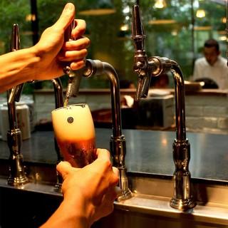 人気のクラフトビール「コエドビール」を樽生で!