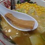 梅光軒 - メンマが太くて美味しい。