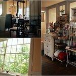 創作キッチン 集 - 店内はアンティークのドアや梁を使い、やわらかみのあるウッディベース。