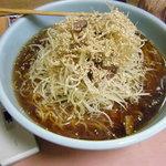たぬきラーメン - 料理写真:ゴマねぎラーメン