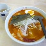 ラーメン華門 - 料理写真:スープカレーラーメン2017.11月