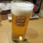鈴の屋 - 生ビール_550円(税別:以下同)