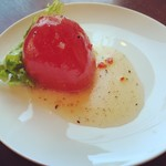 76941087 - 丸ごとトマトのサラダ