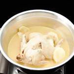 チキンカントリー - 豆乳コラーゲン鍋