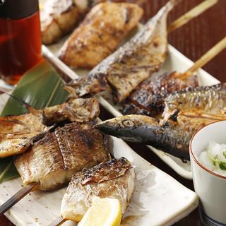 魚串焼き・おまかせ5本