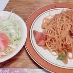 とも - 料理写真: トマトスパゲティ